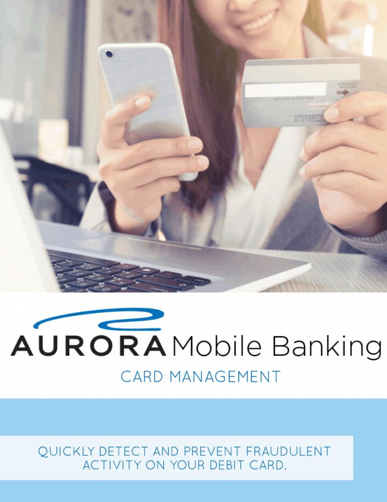 Mobile Banking Card Management