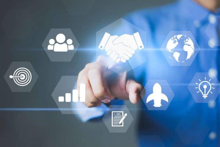evaluate and select a partnership - handshake